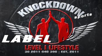 Knockdown® – custom fightwear