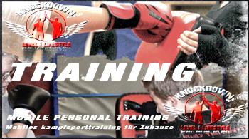 Mobiles Kampfsporttraining