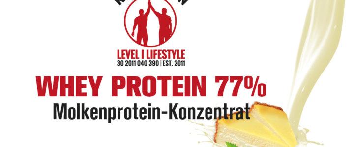 KÄSEKUCHEN – Protein