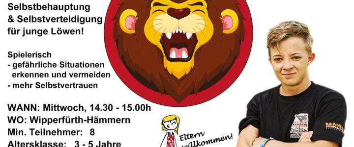 Löwengarde – Selbstverteidigung für Kids von 3-5 Jahre